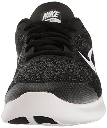 Nike Kids Free Rn (grande) Nero / Bianco / Grigio Scuro / Antracite