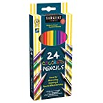 Sargent Art 22-7224 24-Count Assorted Colored Pencils