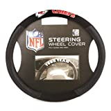 Automotive : NFL Kansas City Chiefs Poly-Suede Steering Wheel Cover