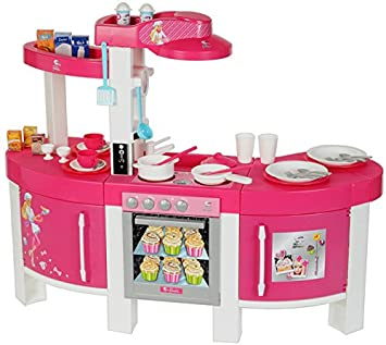 Theo Klein, 9500 - Cucina di Barbie con effetti sonori: Amazon.it ...