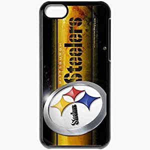 Personalized iPhone 5C Cell phone Case/Cover Skin 1447 pittsburgh steelers Black