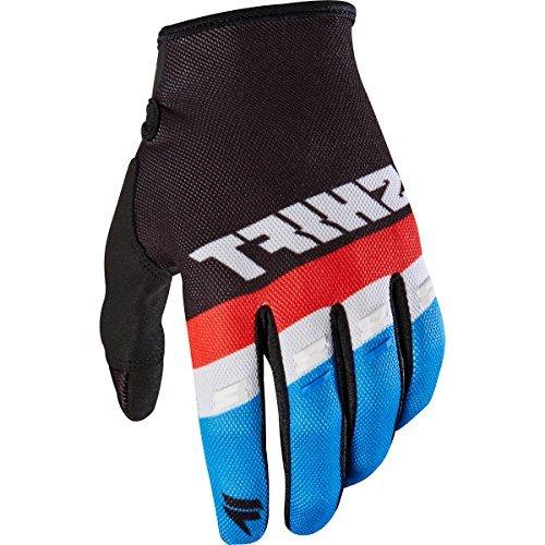(Shift MX 2017Motocross Gloves WHIT3Air Gloves-Black: Size: L/10)