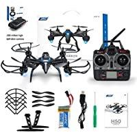JJRC H50CH-2 2.4GHz 4-axis Gyro Altitude Hold Headless Mode 360 Degree Roll RC Quadcopter RTF with 2.0MP Camera