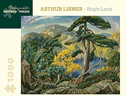 Arthur Lismer: Bright Land 1,000-piece Jigsaw Puzzle by Pomegranate