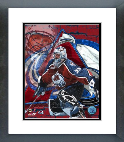 Patrick Roy Colorado Avalanche Framed Picture (Patrick Roy Photograph)
