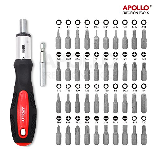 Apollo Tools DT0204 71 Piece Household Tool Kit with Most Reached for Hand Tools in Storage Case by Apollo Tools (Image #5)