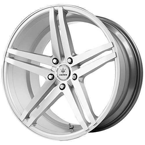 Verde Custom Wheels V39-214442S Parallax Silver Wheel with Machined Face (20x10