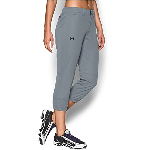 bd40f4eb Amazon.com: Under Armour Women's Strike Zone Pants: Clothing