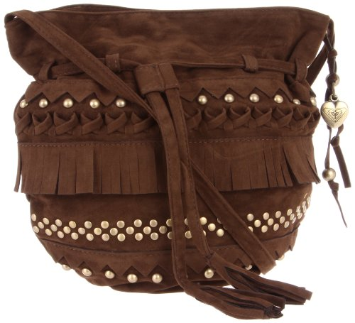 Roxy Accent Cross Body,Brown,One Size