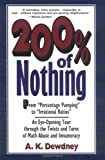 200% of Nothing, A. K. Dewdney, 0471145742