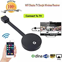 Rambly Wifi Display HDMI 1080P TV Dongle Receiver Fits Smartphone Laptop TV LX