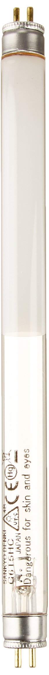 UVP 34-0015-01 Replacement UV Tube for Handheld UV Lamps, 8.3'' Length, 254nm Shortwave/365nm Longwave, 6W by UVP (Image #1)
