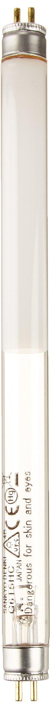 UVP 34-0015-01 Replacement UV Tube for Handheld UV Lamps, 8.3'' Length, 254nm Shortwave/365nm Longwave, 6W
