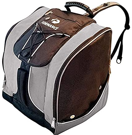 Formance Ski Boot Bag- Ski Gear Backpack for Boots of All Sizes- Top Notch 934f845f6c52d