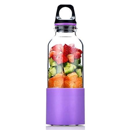 Exprimidor eléctrico seguro USB, licuadora de jugo de frutas ...