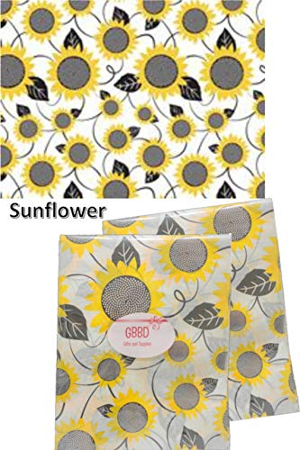 Floral Tissue Paper for Gift Bags 24 Decorative Sheets 20