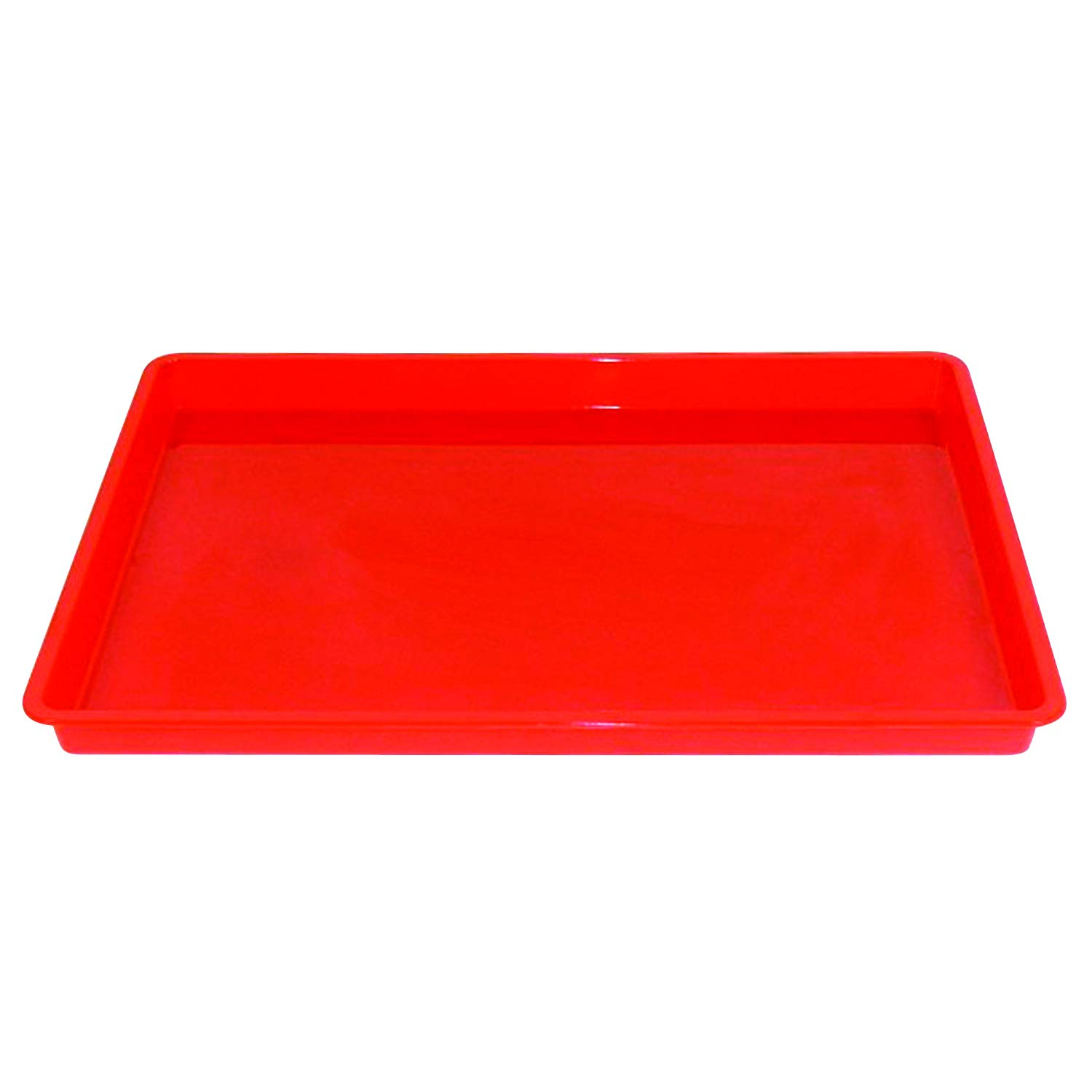 Romanoff Products ROM36902BN Creativitray Finger Paint Tray, Red, Pack of 6