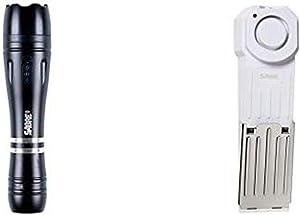 SABRE Door Stop Security Alarm and Stun Gun Flashlight Home Security Kit