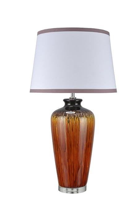 Aspen Creative 40049, 32 1/2u0026quot; High Traditional Ceramic Table Lamp,  Dripped