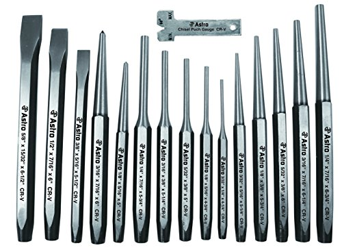 (Astro 1600 16-Piece Punch and Chisel Set)