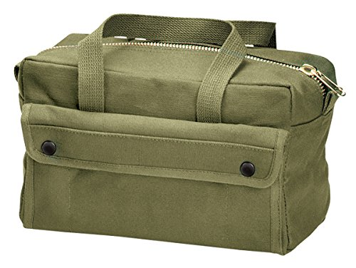 Rothco Mechanics Tool Bag with Brass Zipper