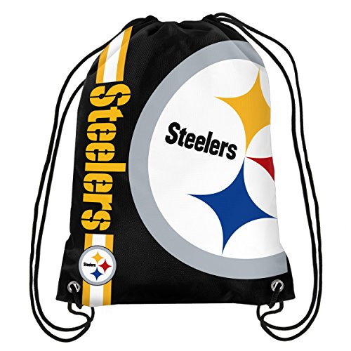 NFL Pittsburgh Steelers Big Logo Drawstring Backpack