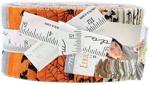 Deb Strain Eerily Elegant Jelly Roll 40 2.5-inch Strips Moda Fabrics 19810JR