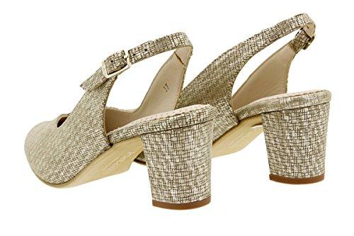 Salón Grabado Confort Nude Zapato PieSanto Beig 180229 Grecia 18Owq