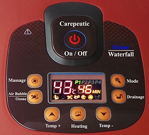 Carepeutic Ozone Waterfall Foot and Leg Spa Bath Massager, 20 Pound by Carepeutic (Image #6)