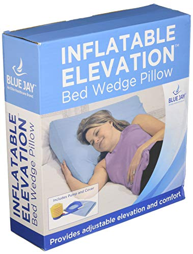 Complete Medical Inflatable Bed Wedge Withcover & Pump 8, 1 Pound