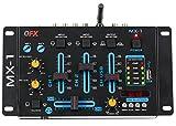 QFX DJ Mixer, BLACK (MX-1)