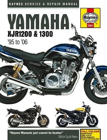 yamaha xjr1200 xjr1300 haynes manual 1995 2006 amazon co uk car rh amazon co uk yamaha xjr 400 manual download yamaha xjr 400 service manual free download