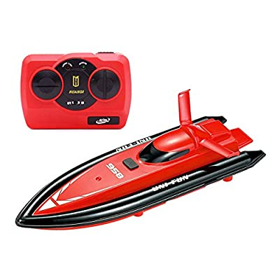Egoelife High Speed Remote Control Electric Toy Boat Racing RC Motor Boat