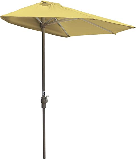 Blue Star Group Off-The-Wall Brella Olefin Half Umbrella
