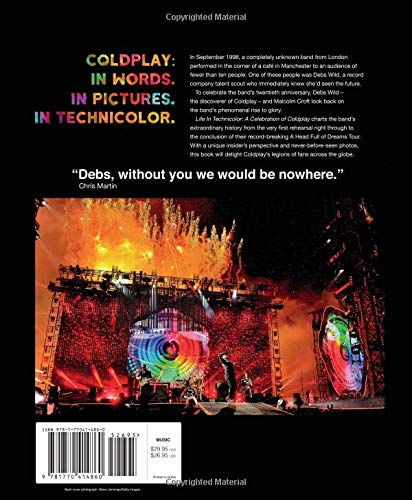 life in technicolor a celebration of coldplay debs wild malcom