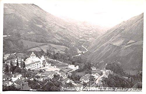 Santuario Quito Ecuador, Republica del Ecuador Postcard