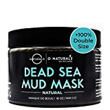O Naturals Best Acne Treatment Pore Reducing Dead Sea Mud Mask for Face