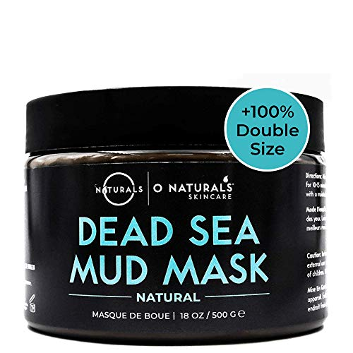 Dead Sea Mud Mask for Face & Body. Best Acne Treatment Organic Deep Pore Minimizer Face Mask & Cleansing Pore Vacuum for Oily Skin. Blackhead Remover Healing Exfoliating Skin Care for Men & Women 18oz (Best Way To Close Pores)