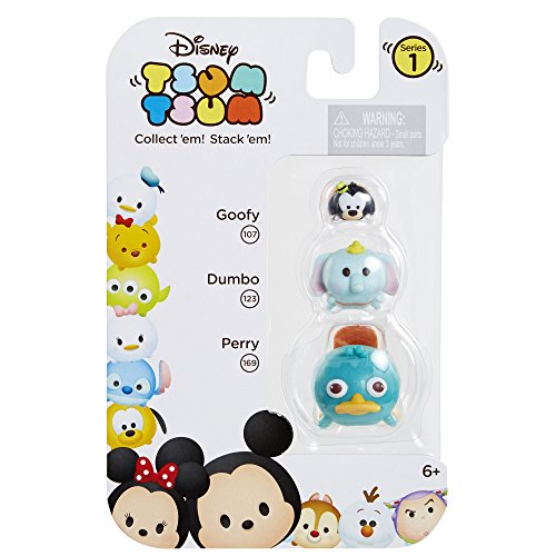 Tsum 3 Pack Figures Perry Dumbo