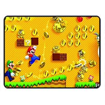 Amazon Com Super Mario Brothers Jump Man 18x24 Floormat