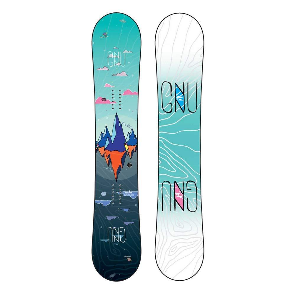 Gnu Velvet Asym スノーボード レディース  153cm