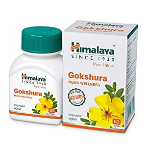 Himalaya Wellness Pure Herbs Gokshura Men's Wellness – 60 Tablets