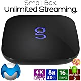 Matricom G-Box Q² Android TV Streaming Media Mini PC [2GB/16GB/4K] Quad/Octo Core