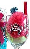 Happy Birthday Wine - Happy Birthday Wine Gift Set - Happy Birthday Wine Gifts- Perfect Birthday Gift For The Wine Lover (Bath Salt Sundae Wine Glass - Let
