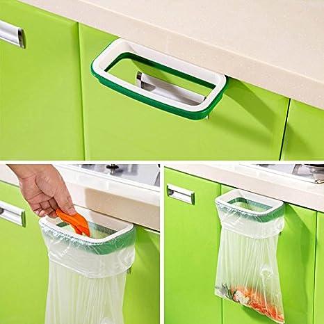Amazon Com Garbage Bag Holder Cabinet Trash Rack Bags