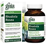 Gaia Herbs Rhodiola Rosea, Vegan Liquid Capsules, 60 Count – For Stress Relief, Mental Focus, Optimal Energy and Endurance Review
