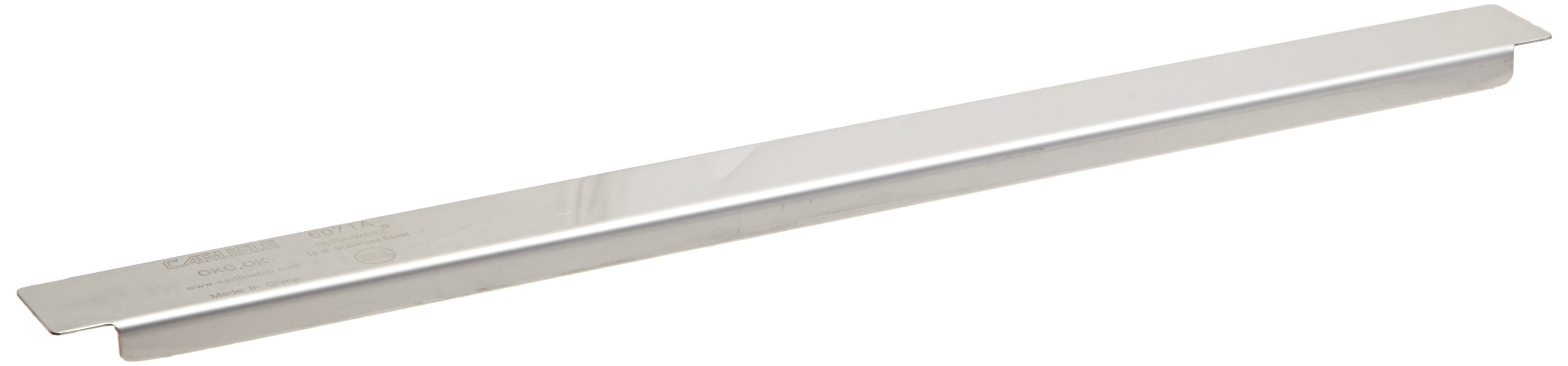 Carlisle 6071A DuraPan Stainless Steel Steam Table Pan Adapter Bar, 12.75'' Long (Pack of 12)