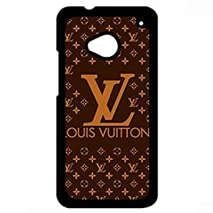 Newest Style Hard Plastic Case Louis And Vuitton LV Phone Case Cover For Htc One M7
