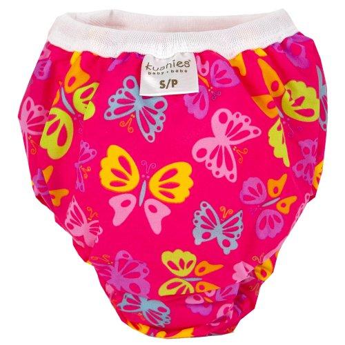 Kushies Taffeta Waterproof Training Pants (Small, Butterfly)