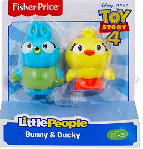(Fisher-Price Little People Bunny and Ducky Toy Story Figure)
